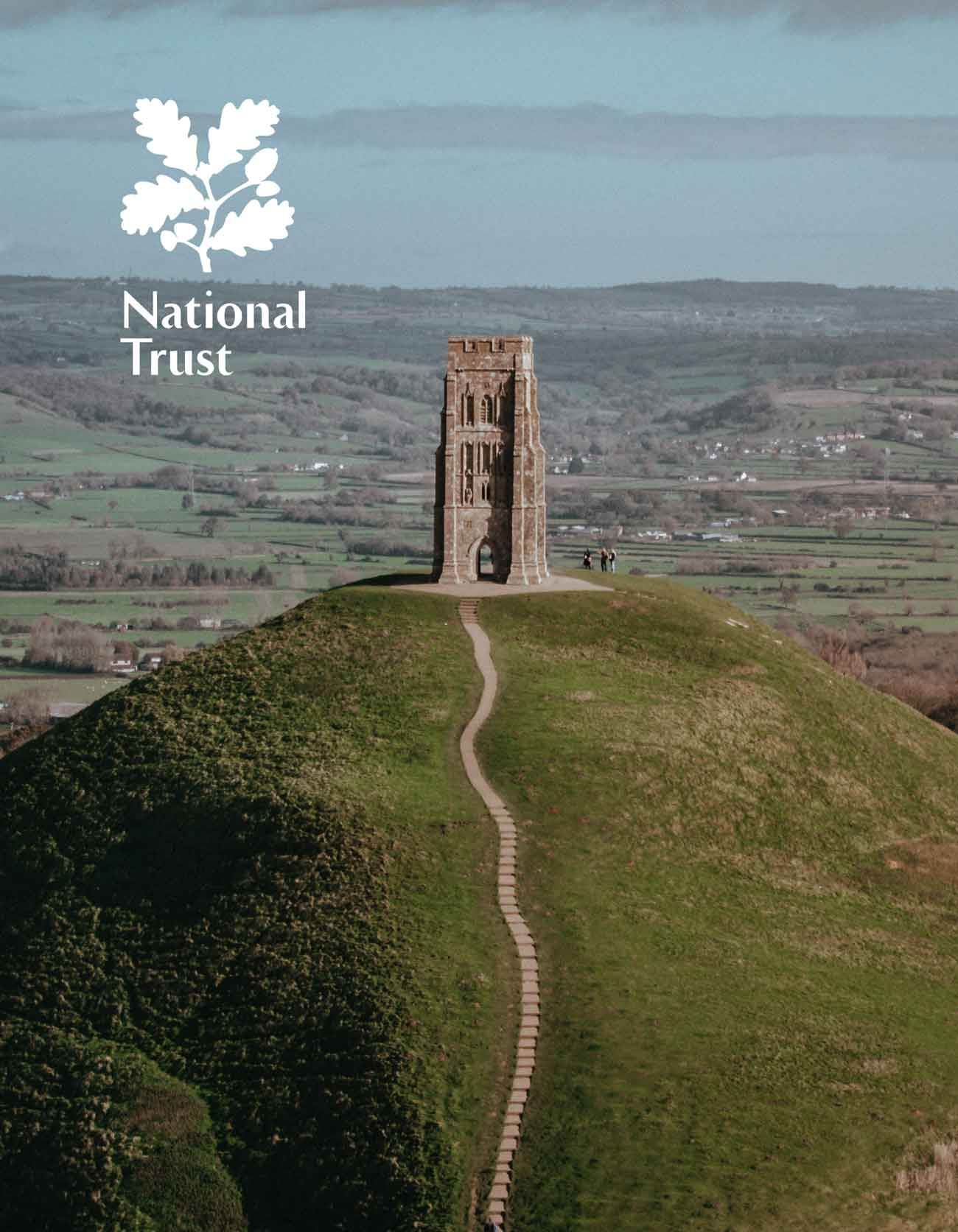 Glastonbury Tor Aerial Photo