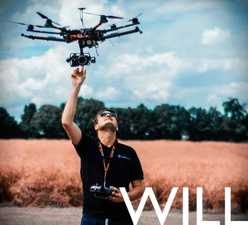 will harford drone pilot